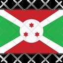 Flag Country Burundi Icon