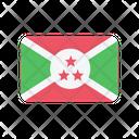 Burundi Flag Country Icon