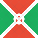 Burundi Flag World Icon
