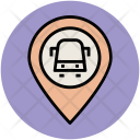Bus Stop Location Icon