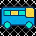 School Bus Collage Bus Travel Icon
