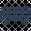 Automobile Bus Journey Icon