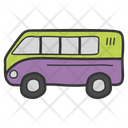 Bus Van Transport Icon