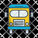 Bus Transportation Vehicle Icon