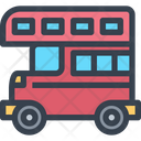Bus Double Decker Bus Double Decker Icon