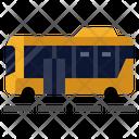Bus Vehicle Transporation Icon