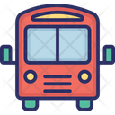 Bus School Bus Transport Icon