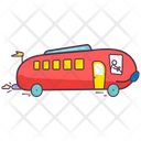 Kids Toy Cartoon Bus Vehicle Icon