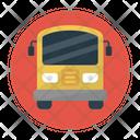 Bus Vehicle School Icon
