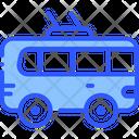Bus Trolley Transport Icon