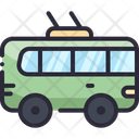 Bus Trolley Transport Icon