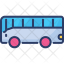 Bus Transport Big Vehicle Icon