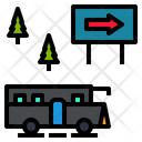 Bus Autobus Passenger Car Icon