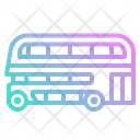 Bus Double Decker Icon
