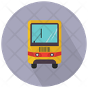Yellow Bus Front Bus School Bus Icon
