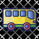 Bus Picnic Bus Picnic Icon