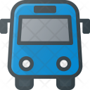 Bus Station Transportation Icon