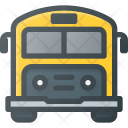Bus School Transportation Icon