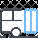 Airport Bus Flight Icon