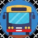 Public Transport Bus Logistics Icon