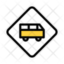 Bus Station Stop Icon