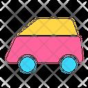 Icon Bus Abstract Primitive Icon