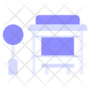 Bus Transport Stop Icon
