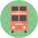 Bus London Public Icon