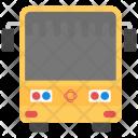 Bus Yellow School Icon