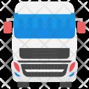 Bus White Passenger Icon