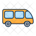 Automobile Bus Minivan Icon