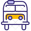 Bus Hipster Traveling Icon