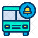 Bus Notification Travel Icon