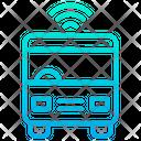 Smart Bus Smart Vehicle Vehicle Icon