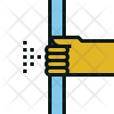 Hold Handrail Bus Icon