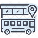 Bus Location Bus Location Icon