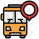 Bus Location Bus Tracking Icon