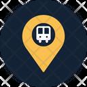 Bus Location Bus Terminal Icon