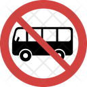 Bus not allowed Icon
