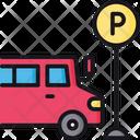 Bus parking Icon