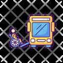 Bus Ramp Icon