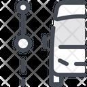 Track Road Route Icon
