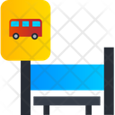 Bus Station Bus Stop Bus Stand Icon