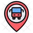 Bus Station Location Bus Stop Icon