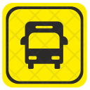 Bus Station Road Icon