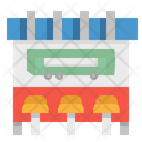 Bus Stop Bench Icon