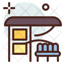 Bus Stop Stop Bus Stand Icon