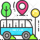 Bus Stop Bus Bus Stand Icon