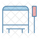 Bus Stop Bus Stand Bus Station Icon