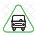 Bus Stop Traffic Icon